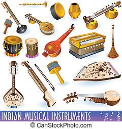 Indische Musikinstrumente