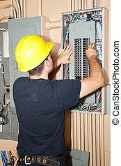 Industrie-Elektrische Reparatur