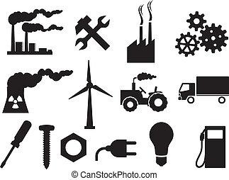 Industrie-Ikonensammlung