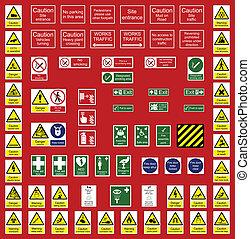 Industrie- und Bürozeichen