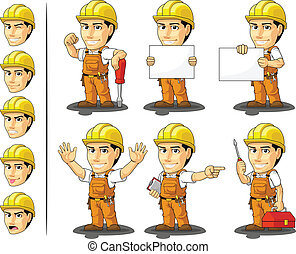Industriearbeiter Masc
