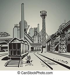 Industriegebiet.