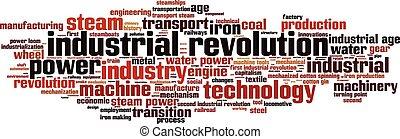Industrielle Revolutions-Wortwolke