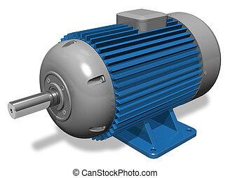 Industrieller Elektromotor