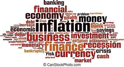 Inflationswortwolke