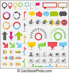 Infografische Elemente