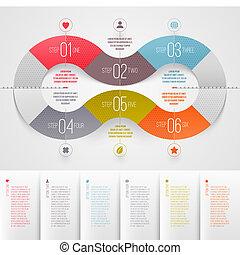Infografische Muster