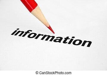 Information.