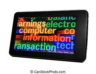 informationen, edv, tablette pc