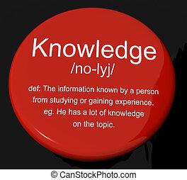 informationen, kenntnis, definition, intelligenz, taste, bildung, shows