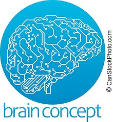 intelligenz, design, künstlich