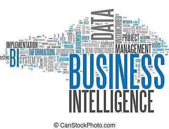 intelligenz, wort, wolke, geschaeftswelt
