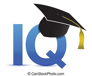 Intelligenzquotient Iq Abschlussfeier