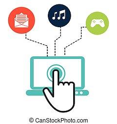 interaktiv, technologie, design