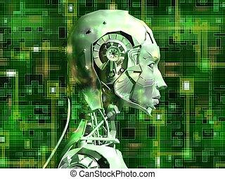intern, android, technologie, enthüllt