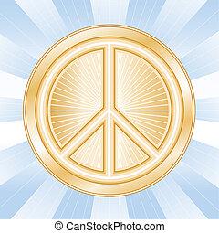 Internationales Friedenssymbol