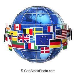 Internationales Kommunikationskonzept