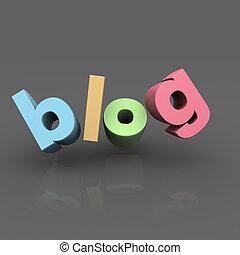 Internet-Blog-Konzept.