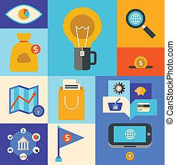 Internet Marketing-Ikonen