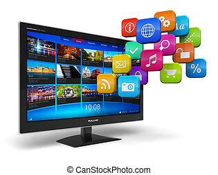 Internet-TV-Konzept