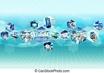Internet und Multimedia.