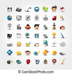 Internet- und Web-Ikonen, Web-Ikonen, Ikonen
