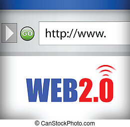 Internet-Web 2.0 Browser