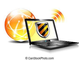 Internetschutzschild Antiviru