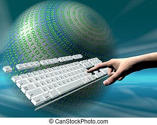 Internetzugang, Tastatur