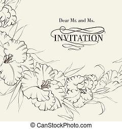 Iris-Blume isoliert im weißen Hintergrund.