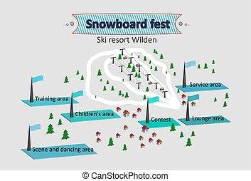 Isomerische Skiort.