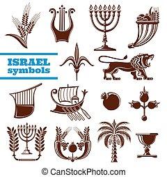 Israels Kultur, Geschichte, Religionssymbole