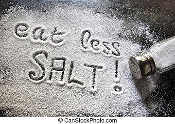Iss weniger Salz