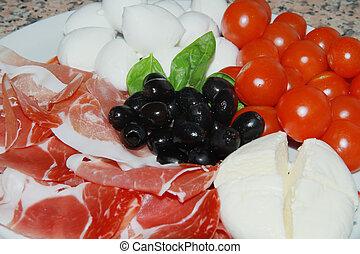 Italienische Vorspeise
