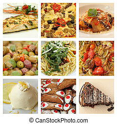 Italienisches Essen.