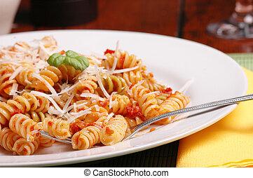 Italienisches Mittagessen
