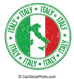 Italienstempel.