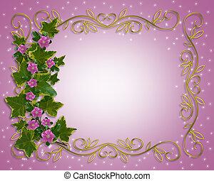 Ivy, Blumengrenzelement.