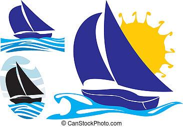 Jacht und segeln