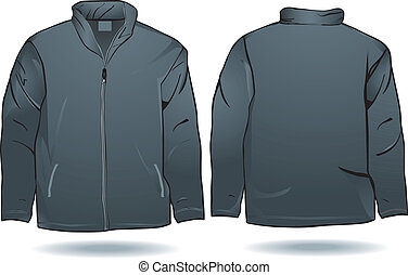 Jacke oder Hemd.