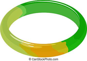 Jade-Armband