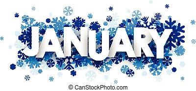 Januarzeichen.