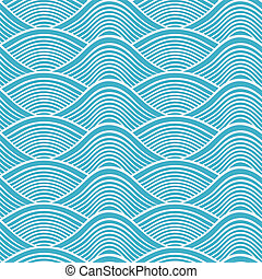 Japanische, nahrlose Meereswellen-Pater