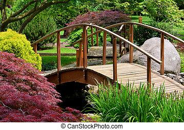 Japanischer Garten.