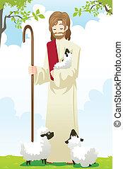 Jesus, der Hirte