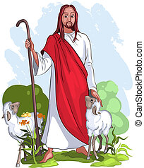 Jesus ist ein guter Hirte