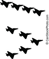 Jets in Silhouette