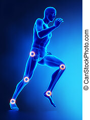 Joints, Beinverletzungs-Konzept