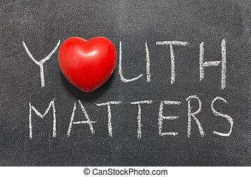 Jugend zählt.