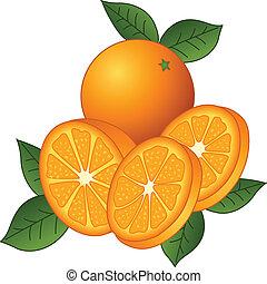 Juicy Orangen
